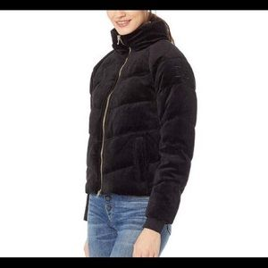 🆕 Juicy Couture Velour Quilted Down Puffer Jacket